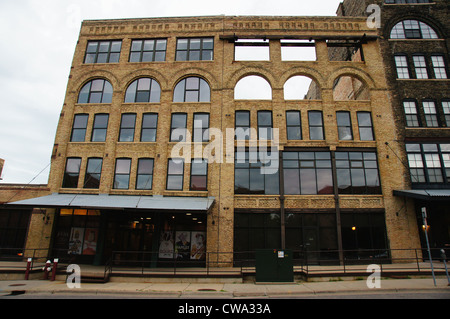 old opera house minneapolis minnesota mn aged ancient antiquated antique archaic dated distant extinct - Stock Photo