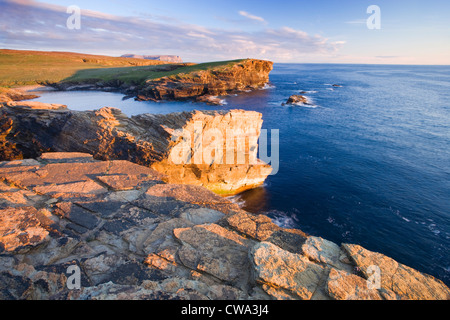 Yesnaby, Orkney, Scotland, UK. - Stock Photo
