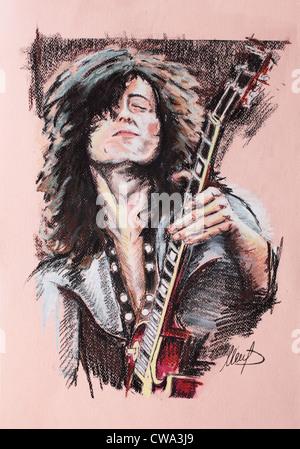 Jimmy Page - Stock Photo