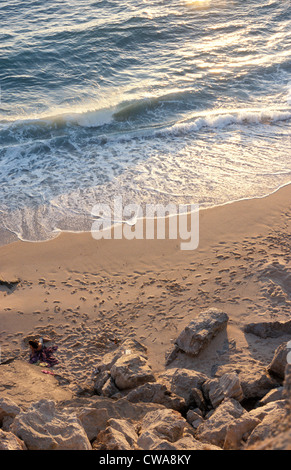 Evening beach at Cabo Trafalgar - Stock Photo
