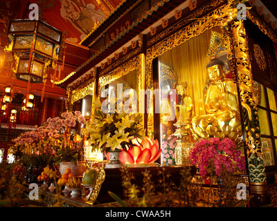 Po lin monastery temple, lantau island, hong kong, china - Stock Photo