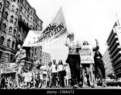 Women's Liberation March, Washington, D.C., 08-26-70. Courtesy: CSU Archives / Everett Collection