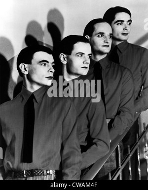 Kraftwerk, 1970s. Courtesy: CSU Archives / Everett Collection - Stock Photo