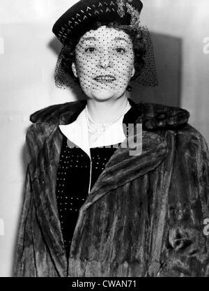 Millicent Hearst, wife of publisher William Randolph Hearst, in New York City, November 8,1937. Courtesy: CSU Archives/Everett - Stock Photo