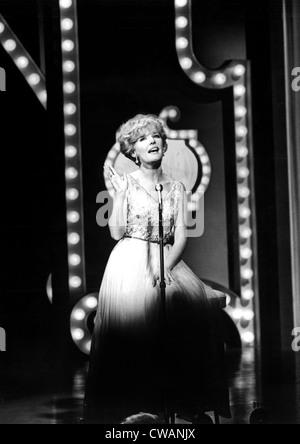 PETULA CLARK in performance, 1966. Courtesy: CSU Archives / Everett Collection - Stock Photo