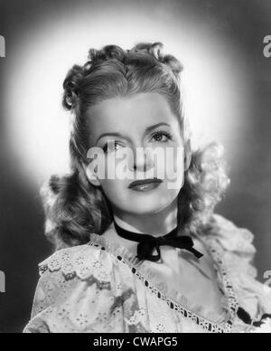 Dale Evans (1912-2001), American actress and singer, circa 1946. Courtesy: CSU Archives/Everett Collection - Stock Photo