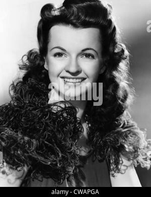 Dale Evans (1912-2001), American actress and singer, circa 1942. Courtesy: CSU Archives/Everett Collection - Stock Photo