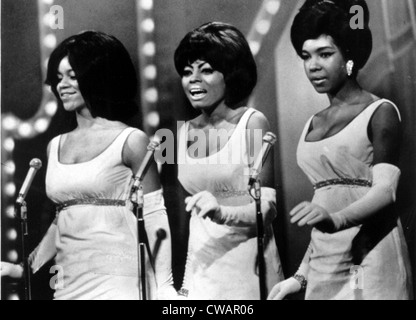The Supremes (Florence Ballard, Diana Ross, Mary Wilson), circa 1966. Courtesy: CSU Archives / Everett Collection - Stock Photo