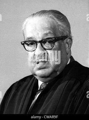 Thurgood Marshall (1908-1993) Associate Justice of the United States Supreme Court, photo:5/5/76. Courtesy: CSU - Stock Photo