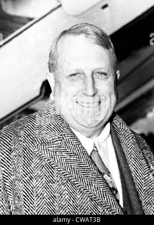 WILLIAM RANDOLPH HEARST, 1937. Courtesy: CSU Archives / Everett Collection - Stock Photo
