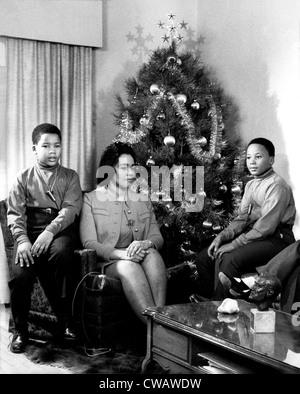 Dexter King, Coretta Scott King, Martin Luther King III prepare ...