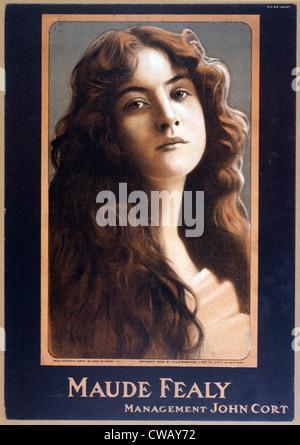 Maude Fealy (1881-1971), American actress, by Burr McIntosh, circa 1906. - Stock Photo