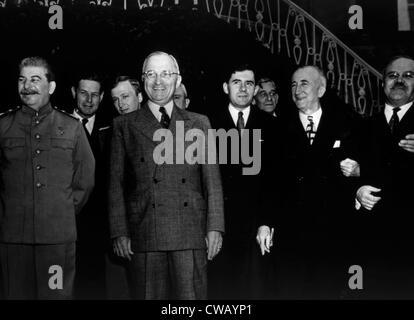 The Potsdam Conference Josef Stalin Harry S Truman James Byrnes