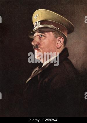Adolf Hitler, ca. 1930s - Stock Photo