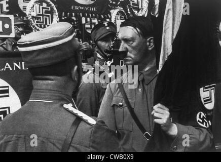 Adolf Hitler at the Parteitag der Freiheit, 1935 - Stock Photo