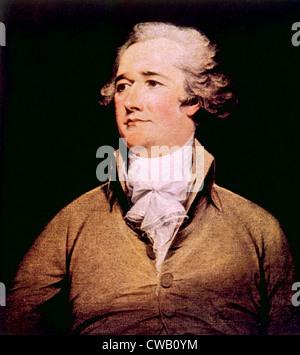 Alexander Hamilton (1755-1804) - Stock Photo