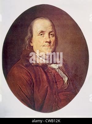 Benjamin Franklin (1706-1790) - Stock Photo