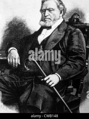 Brigham Young (1801-1877) - Stock Photo