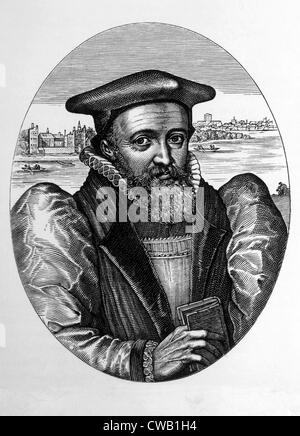 George Abbot (1562-1633), Archbishop of Canterbury from 1611-1633 - Stock Photo