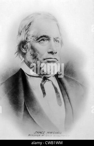 James Wilson Marshall (1810-1885), discoverer of gold in California at Sutter's Mill in 1848, photo ca. 1880 - Stock Photo