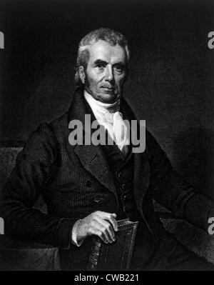 John Marshall (1755-1835), Supreme Court Chief Justice (1800-1835) - Stock Photo