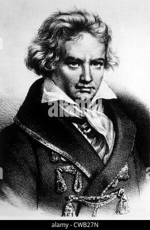 Ludwig van Beethoven (1770-1827) - Stock Photo