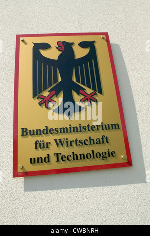 Berlin, Federal Ministry of Economics and Technology - Stock Photo