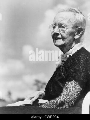 Grandma Moses, born as Anna Mary Robertson (1860-1961), began painting in her seventies and achieved acclaim as - Stock Photo