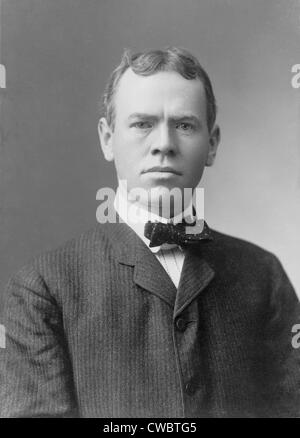 James Brendan Connolly, (1868-1957), athlete and writer, was the first athlete to win a medal at the 1896 Olympics - Stock Photo