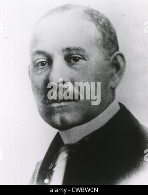 Daniel H. Williams (1856-1931), a prominent African American surgeon, was an early adopter of Lister's antiseptic - Stock Photo