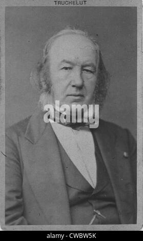 Claude Bernard (1813-1878), French scientist and physiologist, discovered the digestive function of the pancreas - Stock Photo