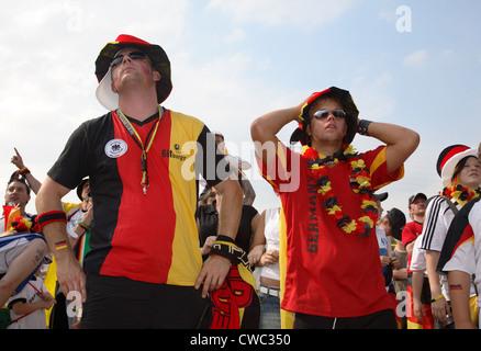 Gelsenkirchen, Fan Fest FIFA World Cup 2006 - Stock Photo
