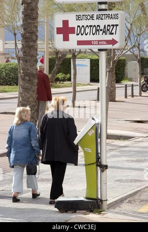 Medical practice in Mallorca - Stock Photo