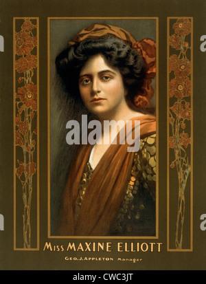 Maxine Elliott 1868 1940 An Actress Romantically Linked