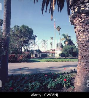 President Nixon's home in San Clemente California. Ca. 1969-74. - Stock Photo