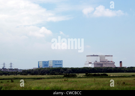 Hinkley Point nuclear power station, Somerset, England - Stock Photo