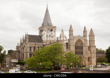 Rochester Cathedral, Kent - Stock Photo