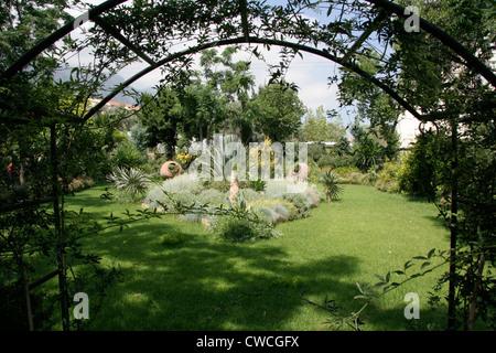 The Gardens of Babel Lapta North Cyprus Stock Photo: 50063436 - Alamy