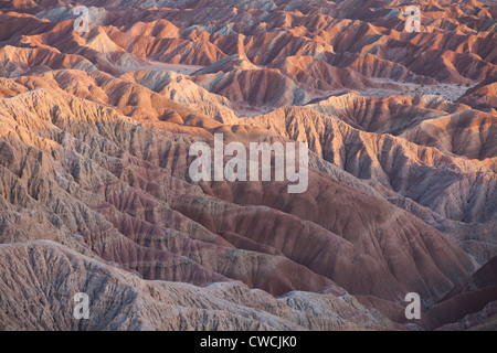 Fonts Point, Anza-Borrego Desert State Park, California. - Stock Photo