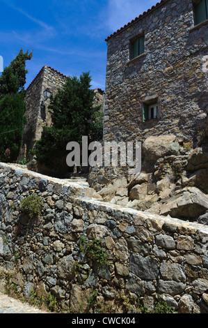 Sant'Antonino  in the Balagne, Corsica, France - Stock Photo