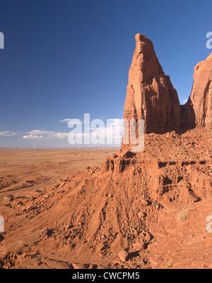 Elk288-1369v Arizona, Monument Valley Navajo Tribal Park, inner canyon landscape - Stock Photo