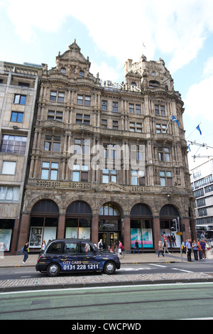 jenners department store now house of fraser princes street edinburgh scotland uk united kingdom - Stock Photo
