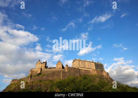 edinburgh castle scotland uk united kingdom - Stock Photo