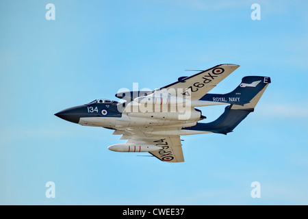 1963 De Havilland DH-110 Sea Vixen - Stock Photo