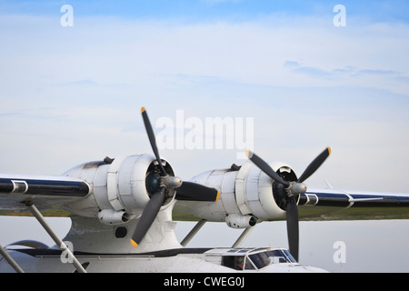 Consolidated Catalina Flying Boat - Stock Photo