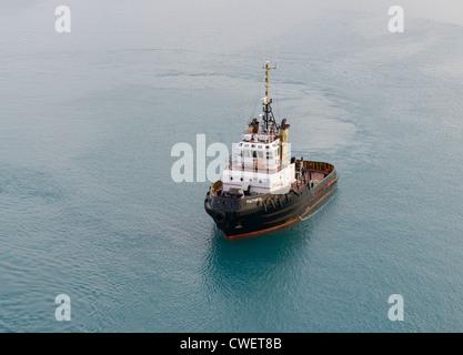 Tug boat, Bermuda - Stock Photo