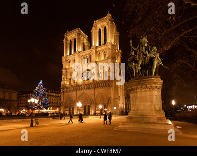 Notre Dame de Paris, France, - Stock Photo