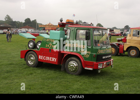 Classic Cars and Lorries - Stock Photo