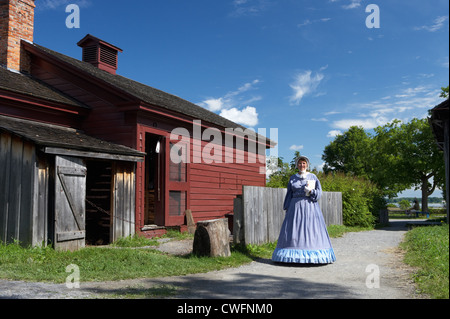 The Open Air Museum Upper Canada Village - Stock Photo