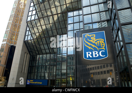 Toronto - Bank Tower of RBC Financial Group Royal Bank Plaza South - Stock Photo